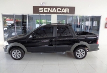 STRADA WORK DUPLA 1.4 FLEX 2012 COMPLETA. WHATS (45)9 9965-8838