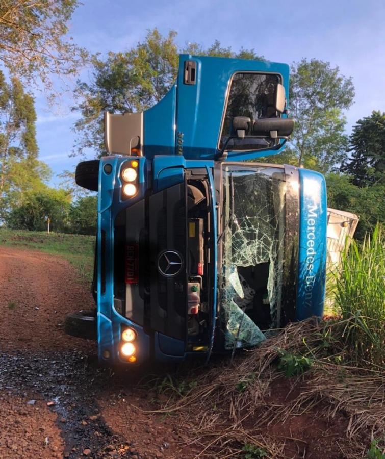 Operação Hórus aprende caminhão carregado com cigarros paraguaios em Marechal Rondon - Aquiagora.net