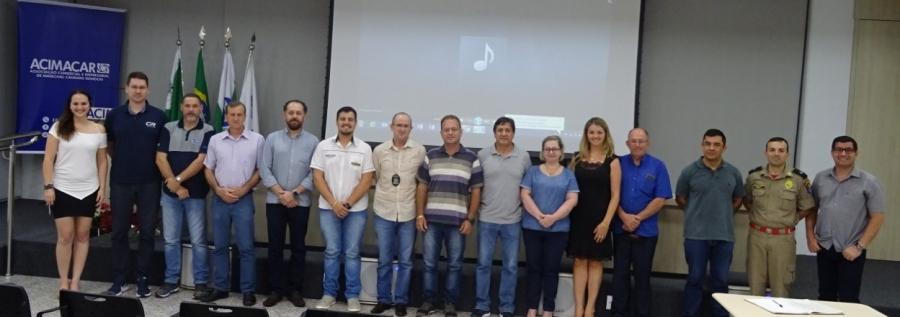 Eleita a nova diretoria do Conselho Comunitário de Segurança de Marechal Rondon - Aquiagora.net